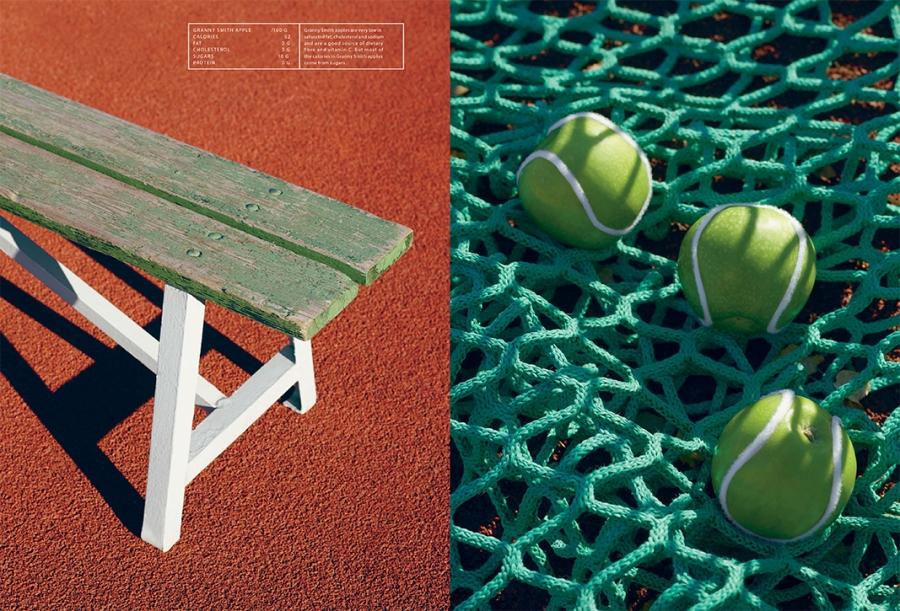 tennis spread